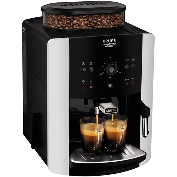 Fotografie Espressor automat Krups EA811810 Arabica, 1450 W, 15 bari, 1.7 L, Negru