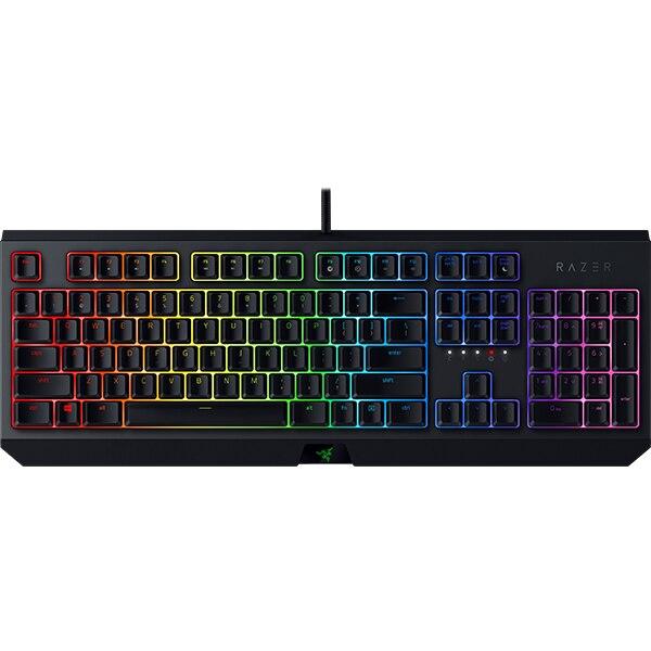 Fotografie Tastatura mecanica gaming Razer BlackWidow 2019, layout US, green switch, Negru