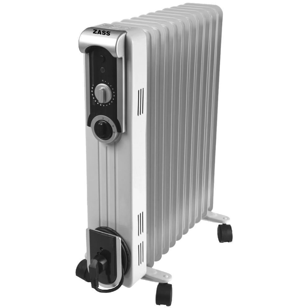 Fotografie Calorifer electric Zass ZR 13 SL, 2500 W, 13 elementi, Termostat reglabil, Protectie supraincalzire