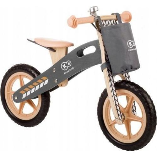 "Fotografie Bicicleta din lemn fara pedale Kinderkraft, 12"", Runner Nature"