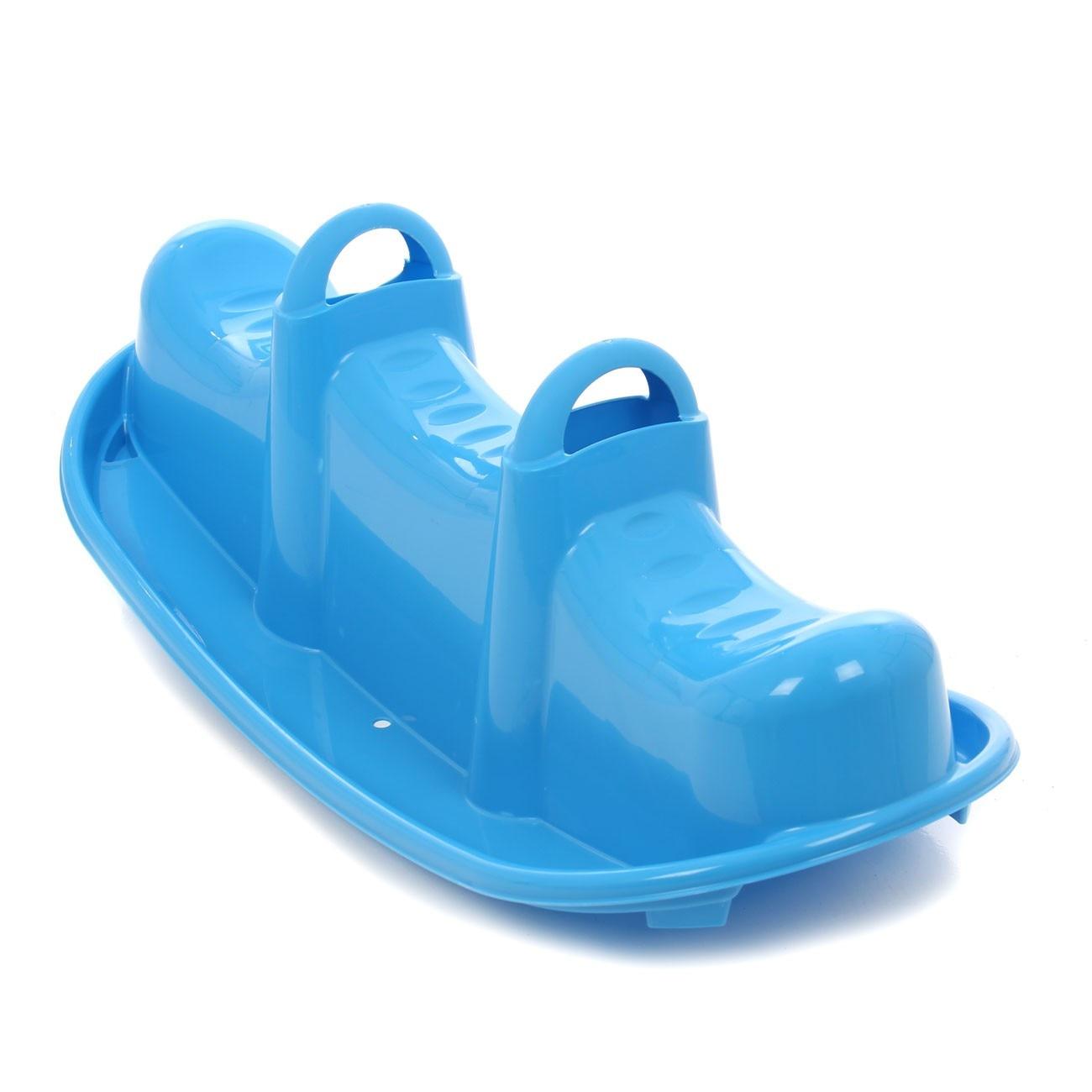 Balansoar Copii Vapor Din Plastic Interior Sau Exterior 103 5 X 43 5 X 36 5 Cm Ats Albastru 3 Locuri Emag Ro