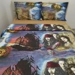 Спално бельо, Памук Ranforce Lux, Модел Карибски пирати, За 2 души, 50 х 70, 150 х 200