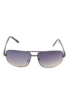 Мъжки слънчеви очила ROCS, S1316GY, Правоъгълни, UV 400 леща, Черен