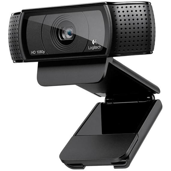 Fotografie Camera web Logitech HD Pro C920, Full HD, Negru