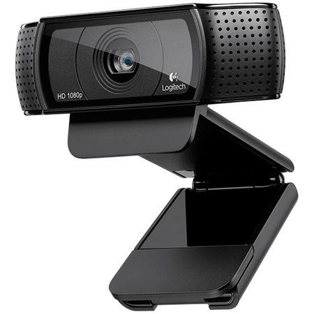 Camera web Logitech HD Pro C920, Full HD, Negru