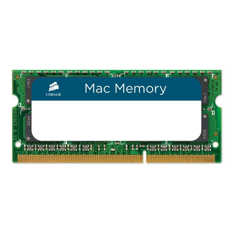 Fotografie Memorie Corsair 4GB SODIMM, DDR3, 1066 MHz, CL 7, 1.5V pentru Apple Mac