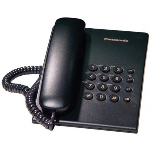 Fotografie Telefon fix analogic Panasonic KX-TS500FXB, Black