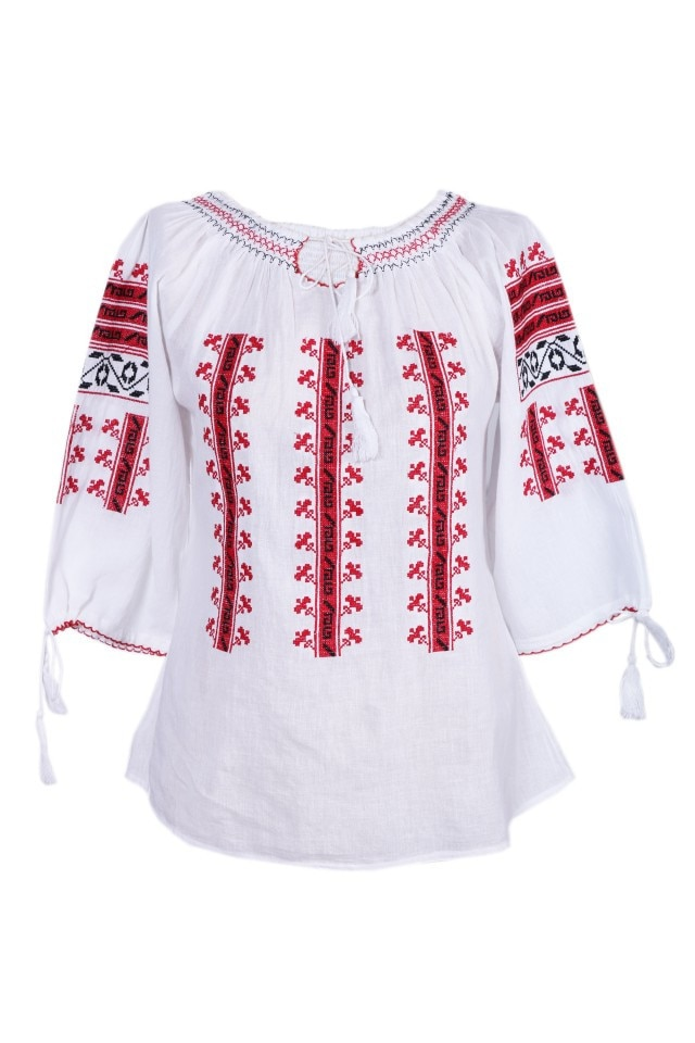 de unde pot cumpăra super calitate cel mai popular Bluza dama tip ie, traditionala,Dial, dae3211, Alb, M-L - eMAG.ro