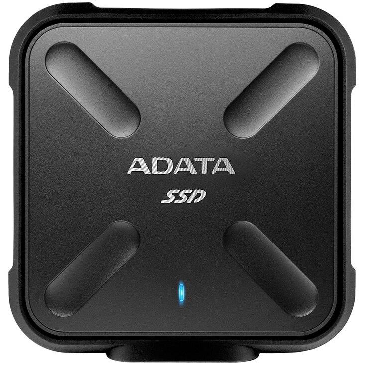 Fotografie SSD extern ADATA Durable SD700, 256GB USB 3.1, Negru