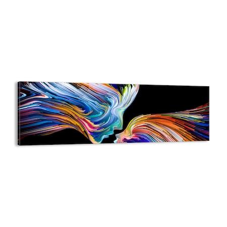 Obraz na płótnie - abstrakcja modern - ARTTOR - 90x30 cm - AB90x30-3709