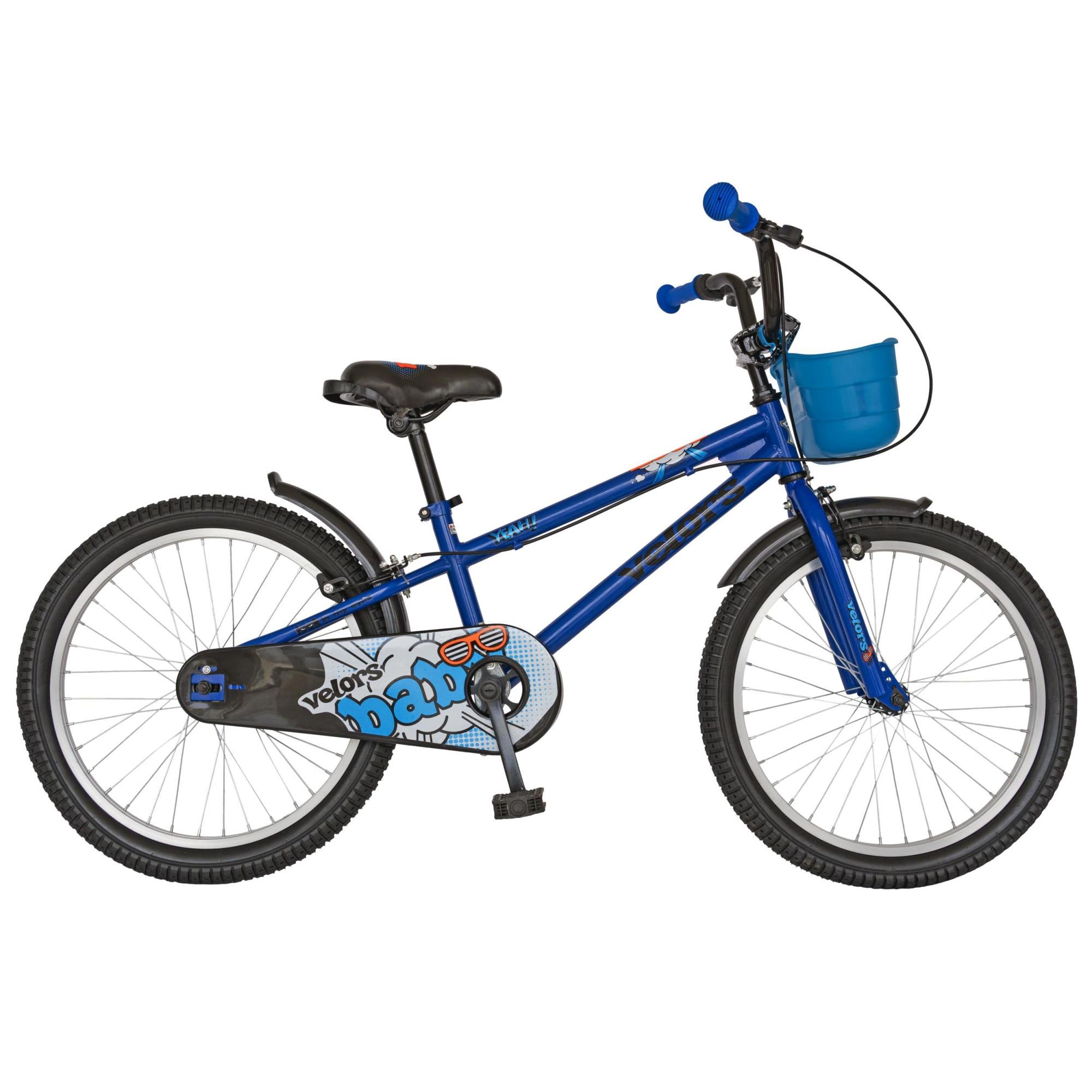 Fotografie Bicicleta Velors V2001A pentru copii 7-9ani, Albastru