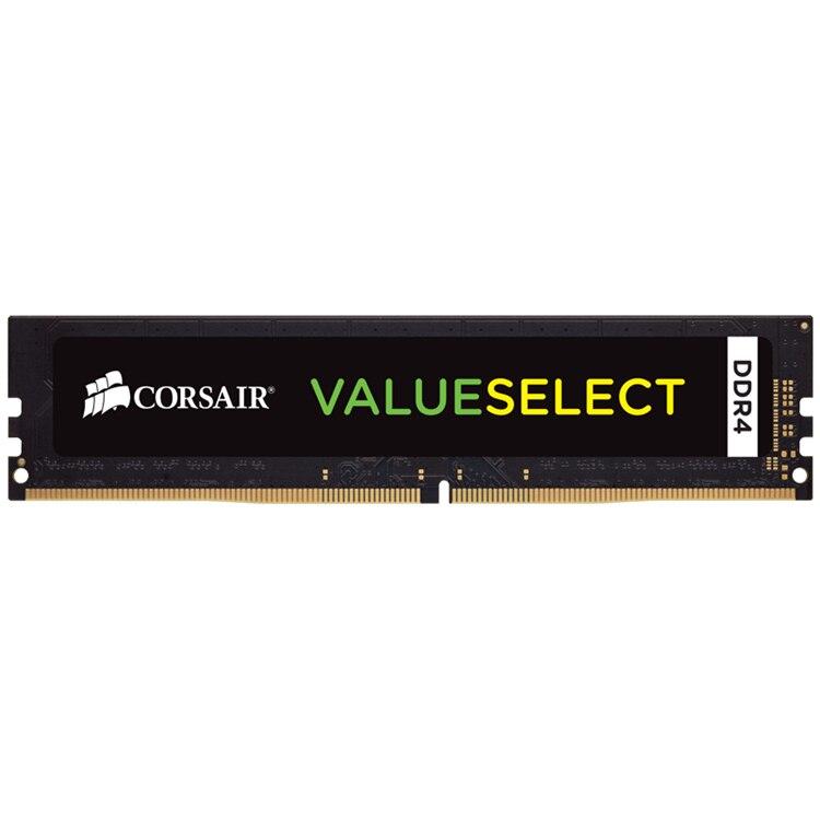 Fotografie Memorie Corsair ValueSelect 8GB DIMM, DDR4, 2133 MHz, CL 15, 1.2V, Black