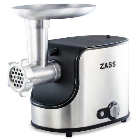 Masina de tocat Zass ZMG 06, 1600W, cutit otel inoxidabil