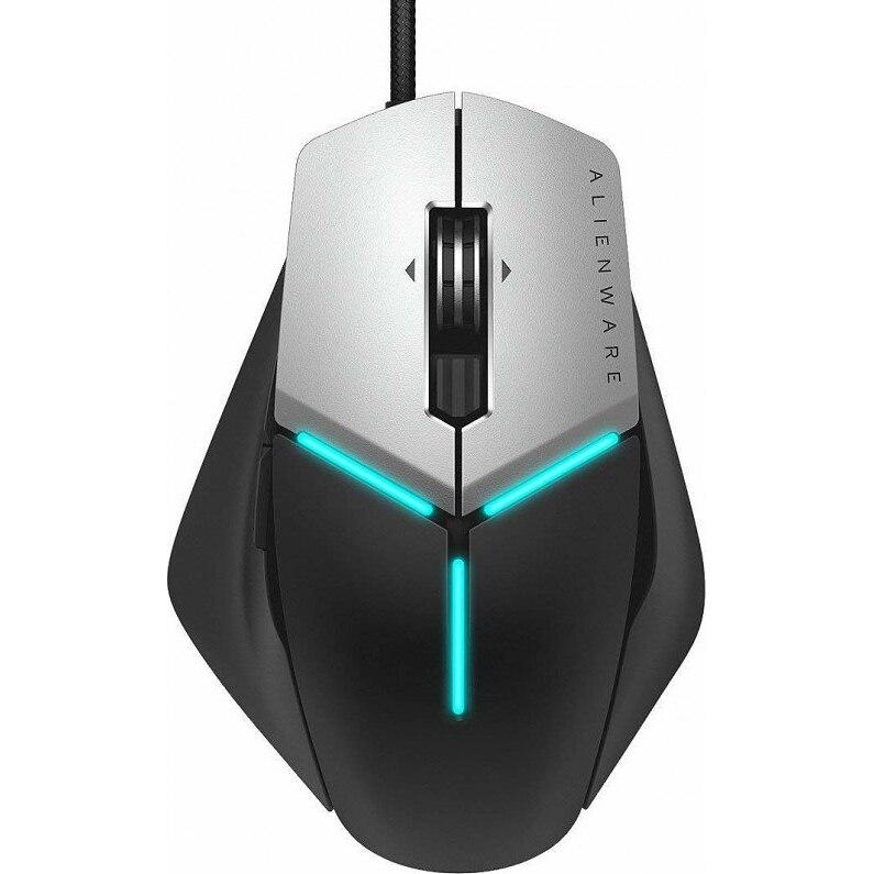 Fotografie Mouse gaming Alienware Elite AW959, AlienFX™ RGB, forma ajustabila, Negru