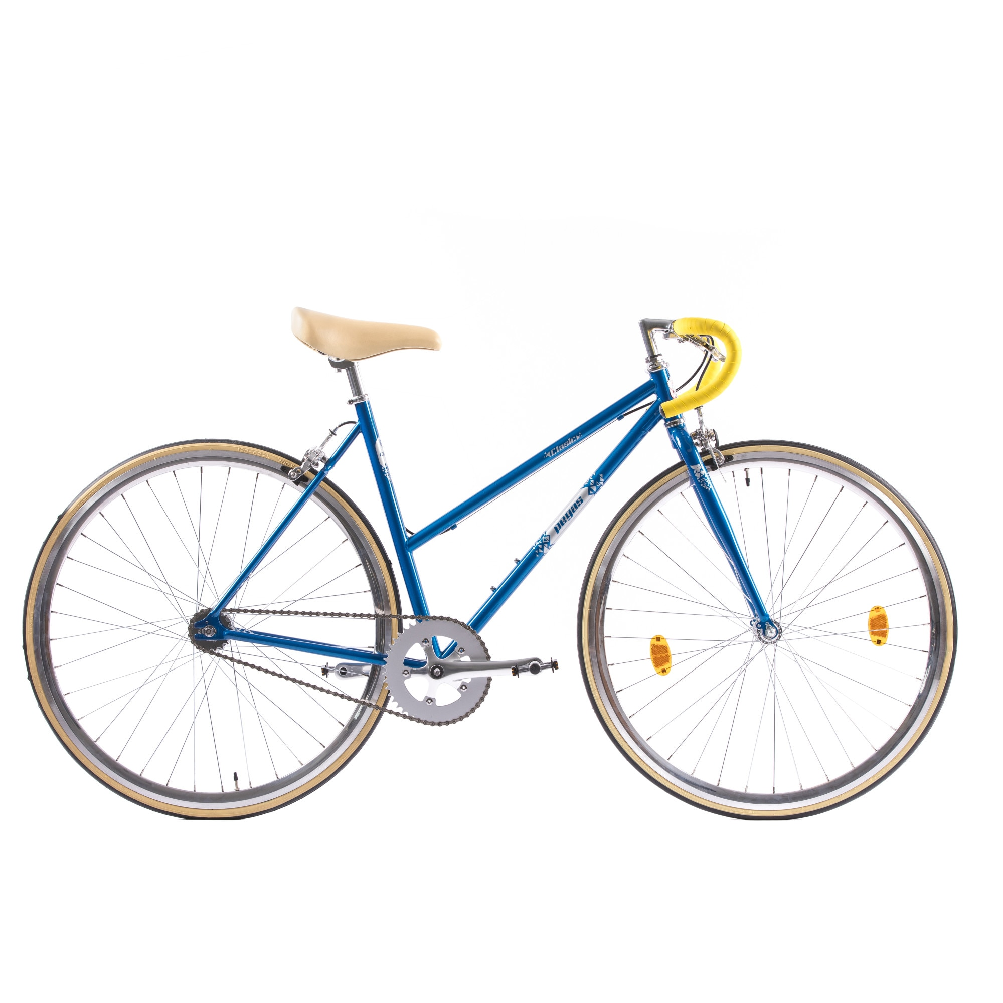 Fotografie Bicicleta Pegas Clasic 2S, Drop Lady, 50cm, Bleu