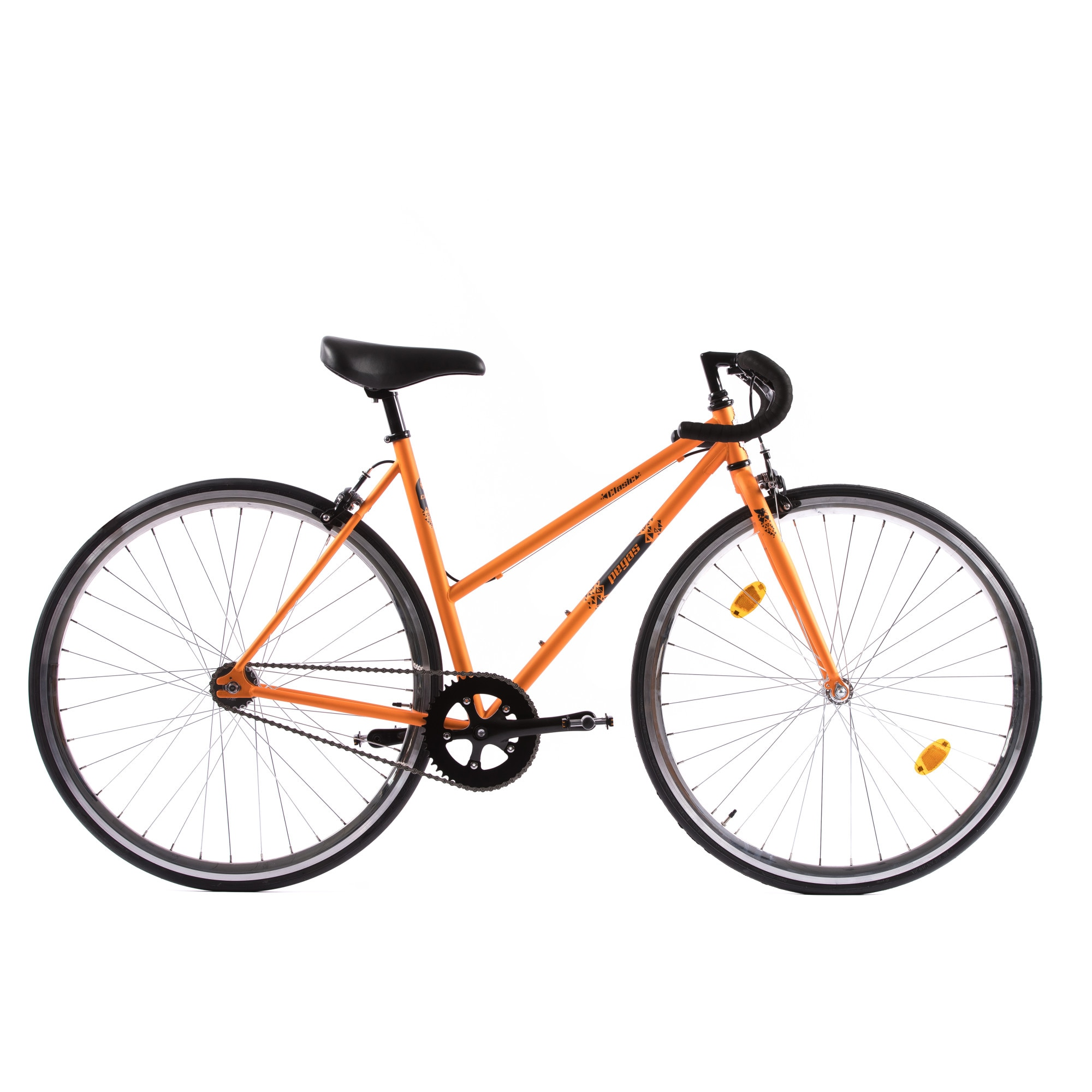 Fotografie Bicicleta Pegas Clasic 2S, Drop Lady, 50cm, Portocaliu
