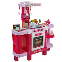 M-Toys Konyha 37 kiegészítővel, Fények és hangok, Rózsaszín