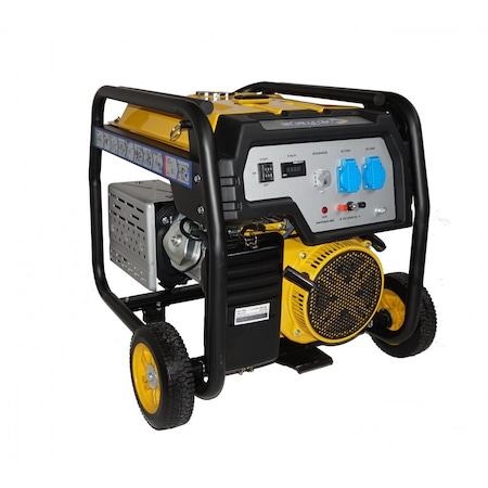 Generator Curent Stager FD 6500E, Putere 5kW, Benzina, Pornire Electrica