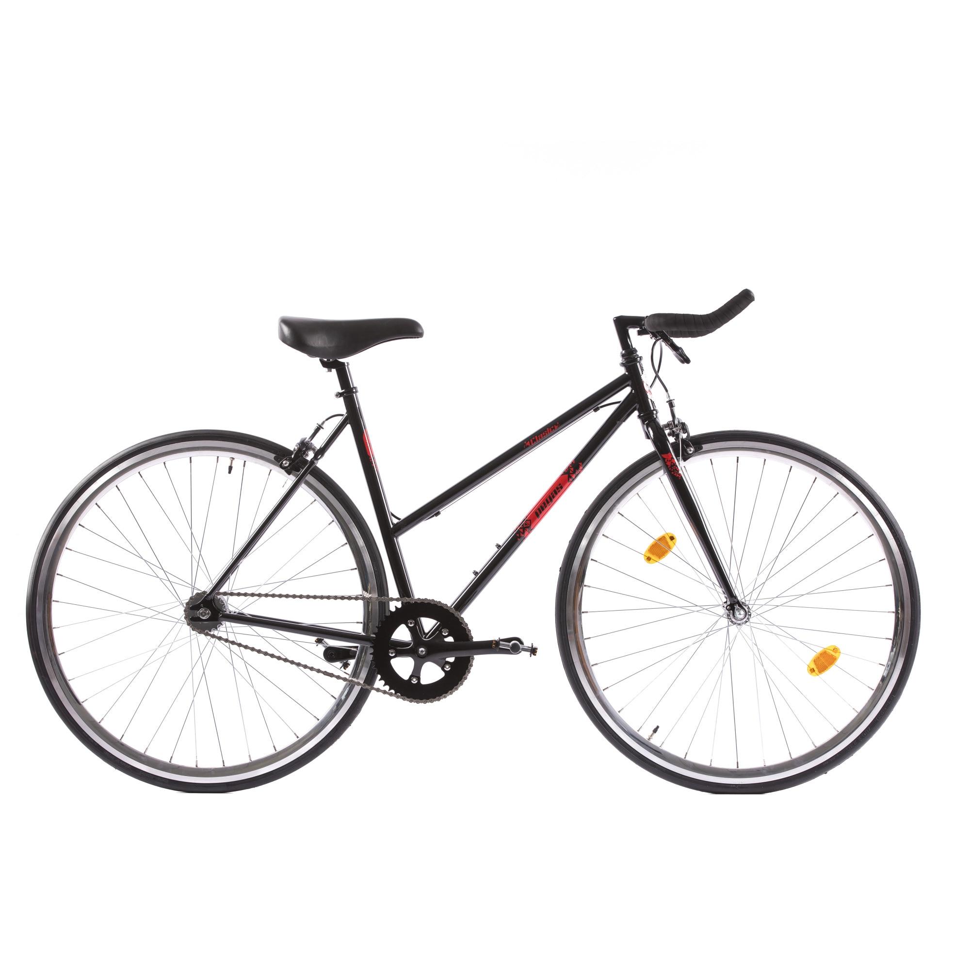 Fotografie Bicicleta Pegas Clasic 2S, Bullhorn Lady, 50cm, Negru