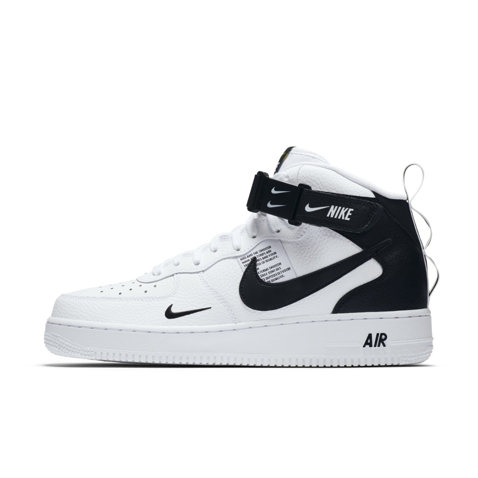 Arancel Plantación Negligencia médica  Pantofi sport,Nike Air Force 1 MID `07 LV8 804609-103,Alb/Negru 43 EU -  eMAG.ro