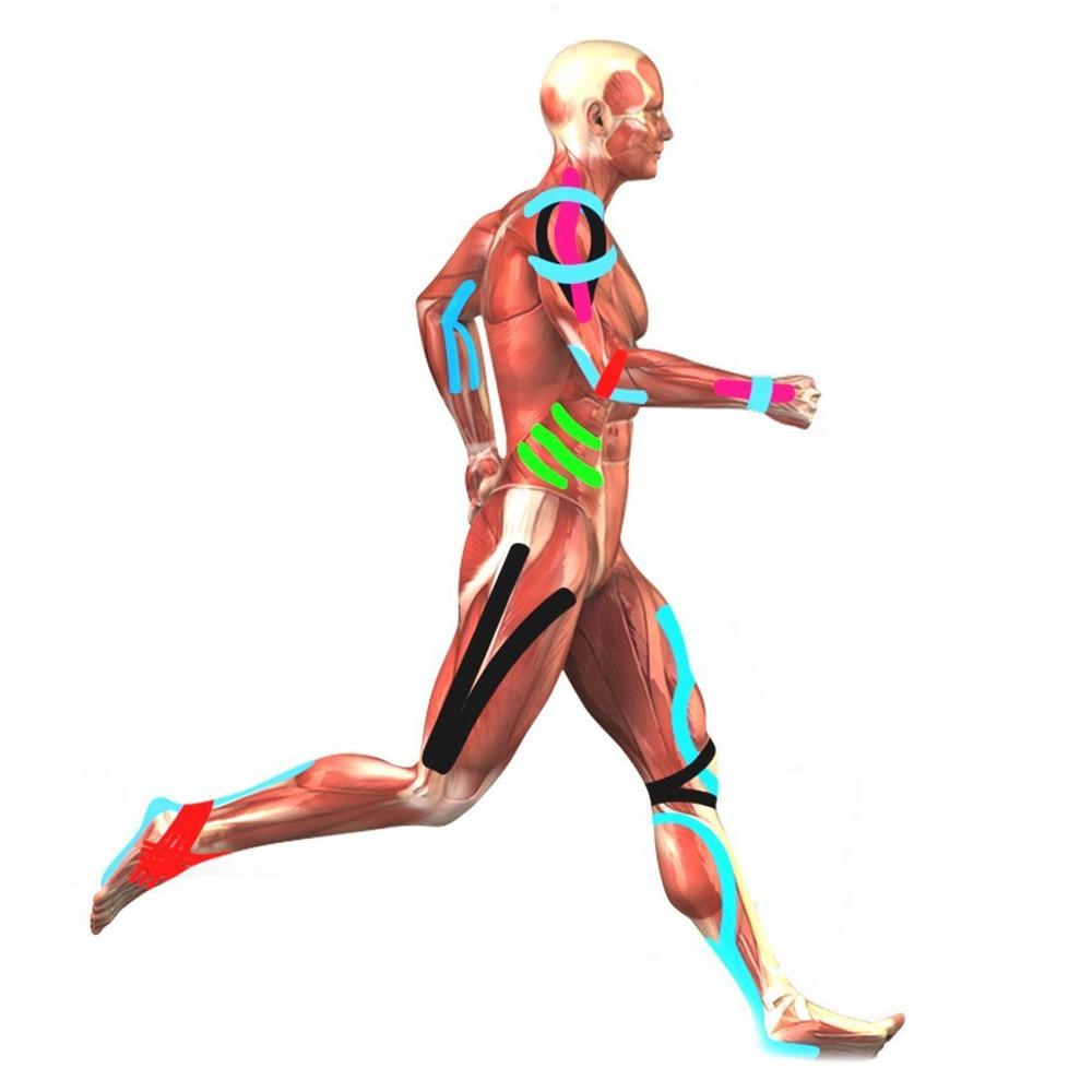 kinesiotape pentru dureri la nivelul articulațiilor și mușchilor)