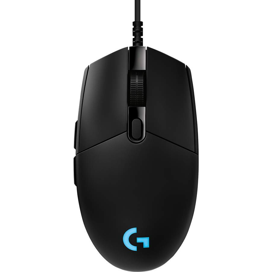 Fotografie Mouse gaming Logitech G PRO Hero 16K DPI, Negru