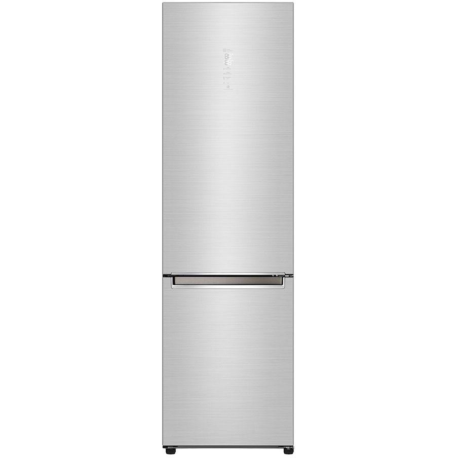 Fotografie Combina frigorifica LG GBB92STAXP, 384 l, No Frost, Smart Diagnosis, WIFI, Compresor Centum System, Clasa A+++, H 203 cm, Inox