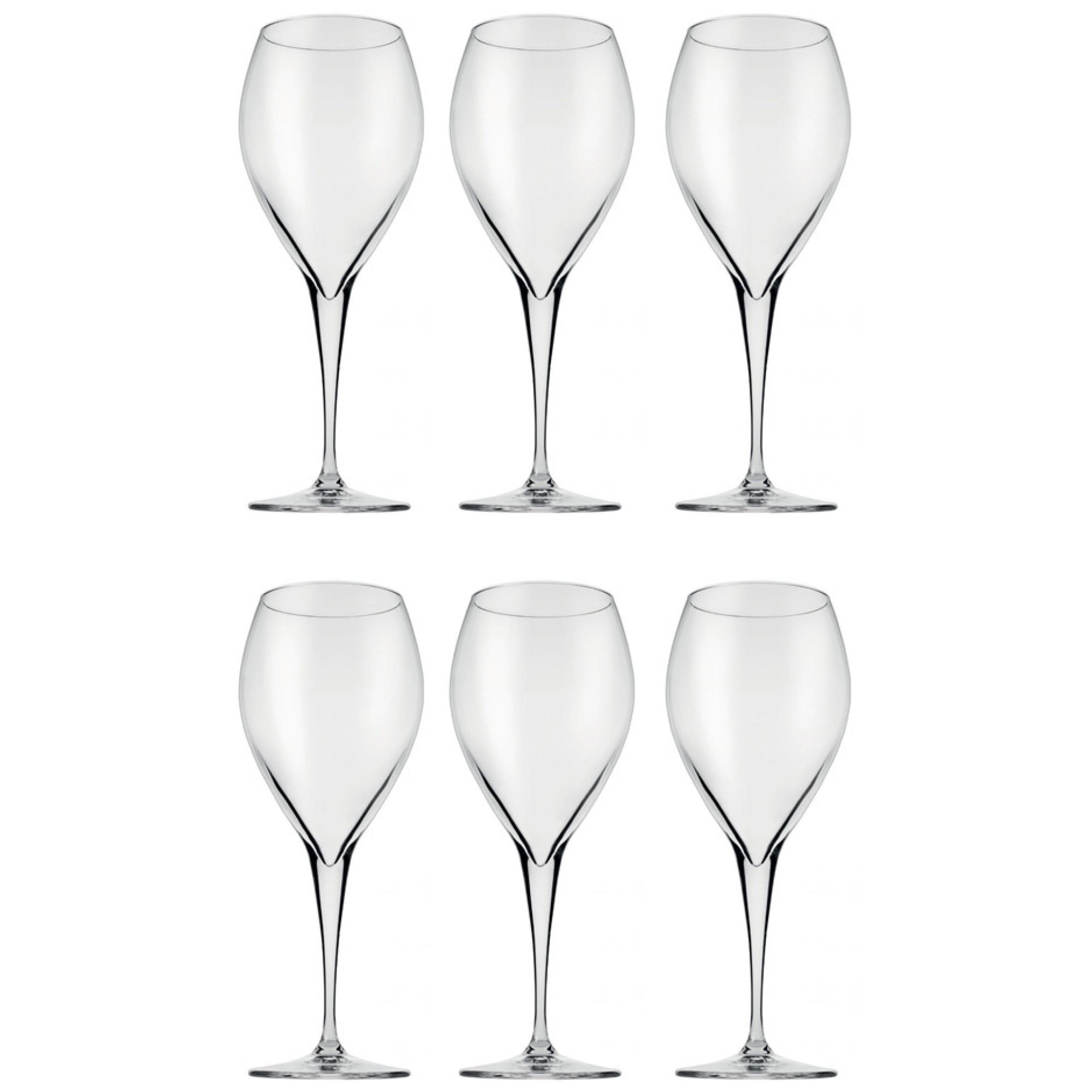 Fotografie Set pahare vin alb, Pasabahce Monte Carlo, 6 piese, 600 ml