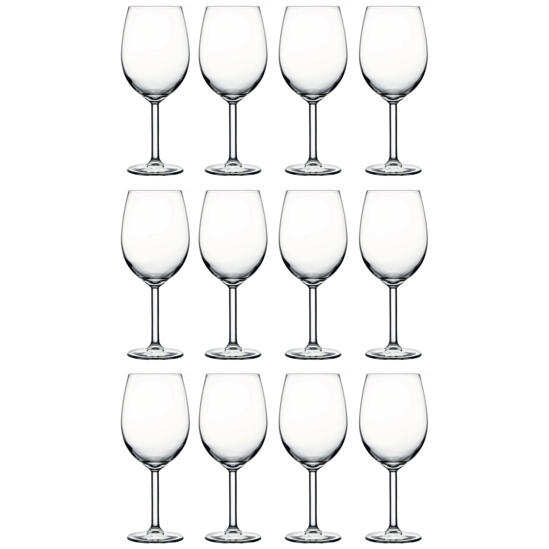 Fotografie Set pahare vin rosu, Pasabahce Prime Time, 12 piese, 525 ml