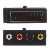 Scart csatlakozó adapter - két irányú