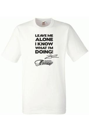Kimi R. Iceman Formula Fan Rövid ujjú póló férfiaknak Fehér 2XL-es méret
