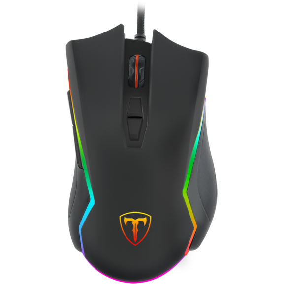 Fotografie Mouse gaming T-Dagger Second Lieutenant, Negru