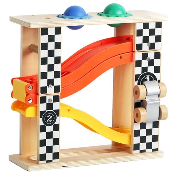 Fotografie Set 2 in 1 M-Toys, Banc de lucru si pista