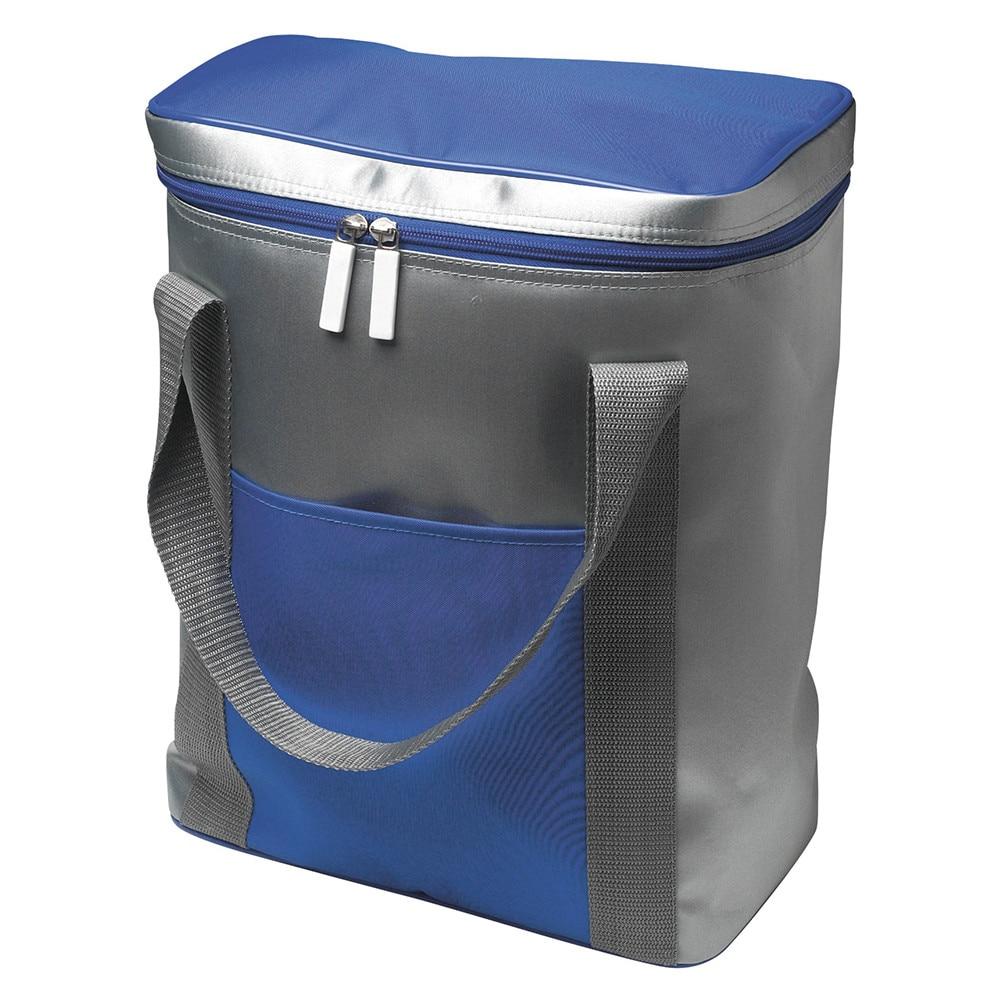 Hűtőtáska 6 db 1,5 literes palacknak ezüst kék eMAG.hu