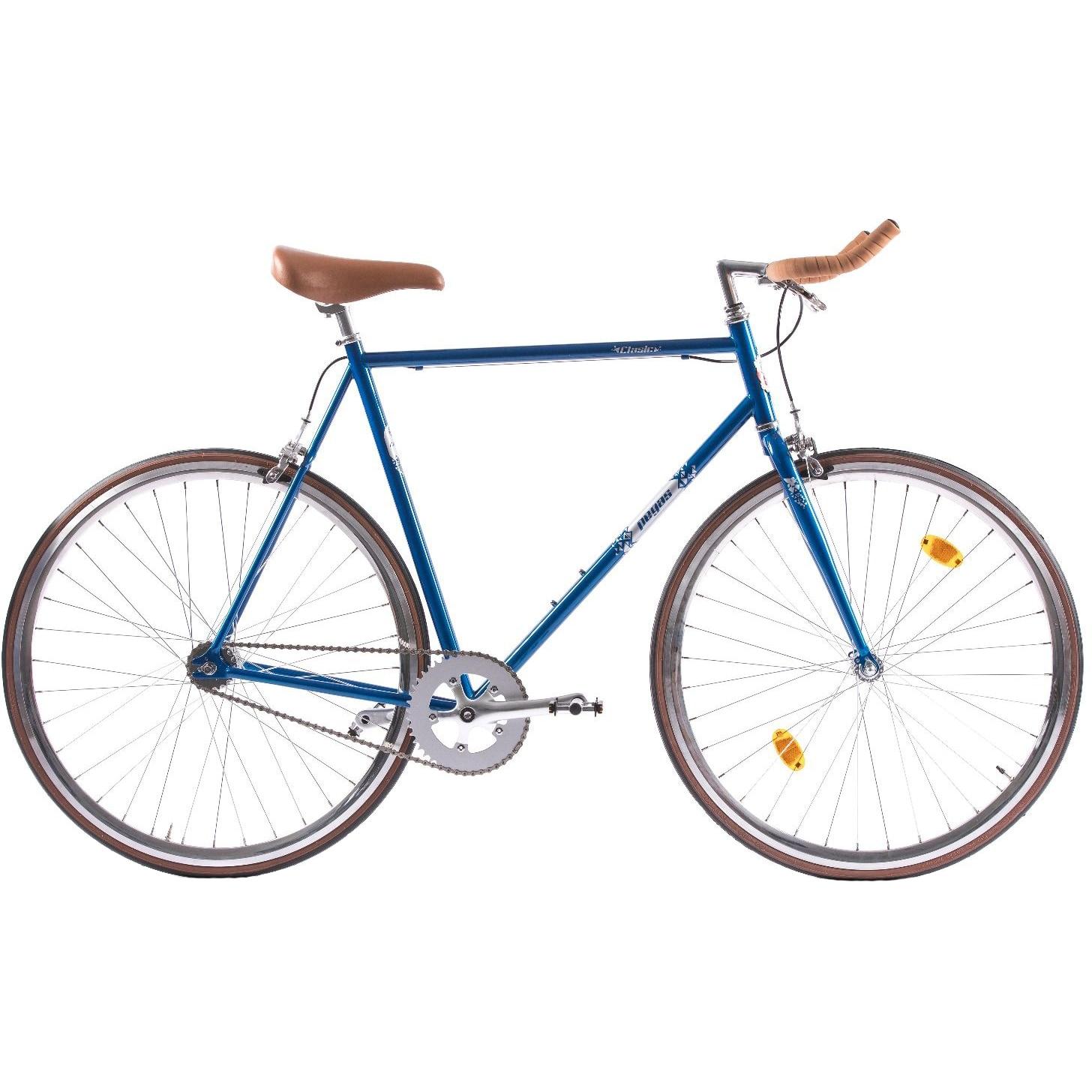 Fotografie Bicicleta Pegas Clasic 2S, Bullhorn Man, 61cm, Bleu