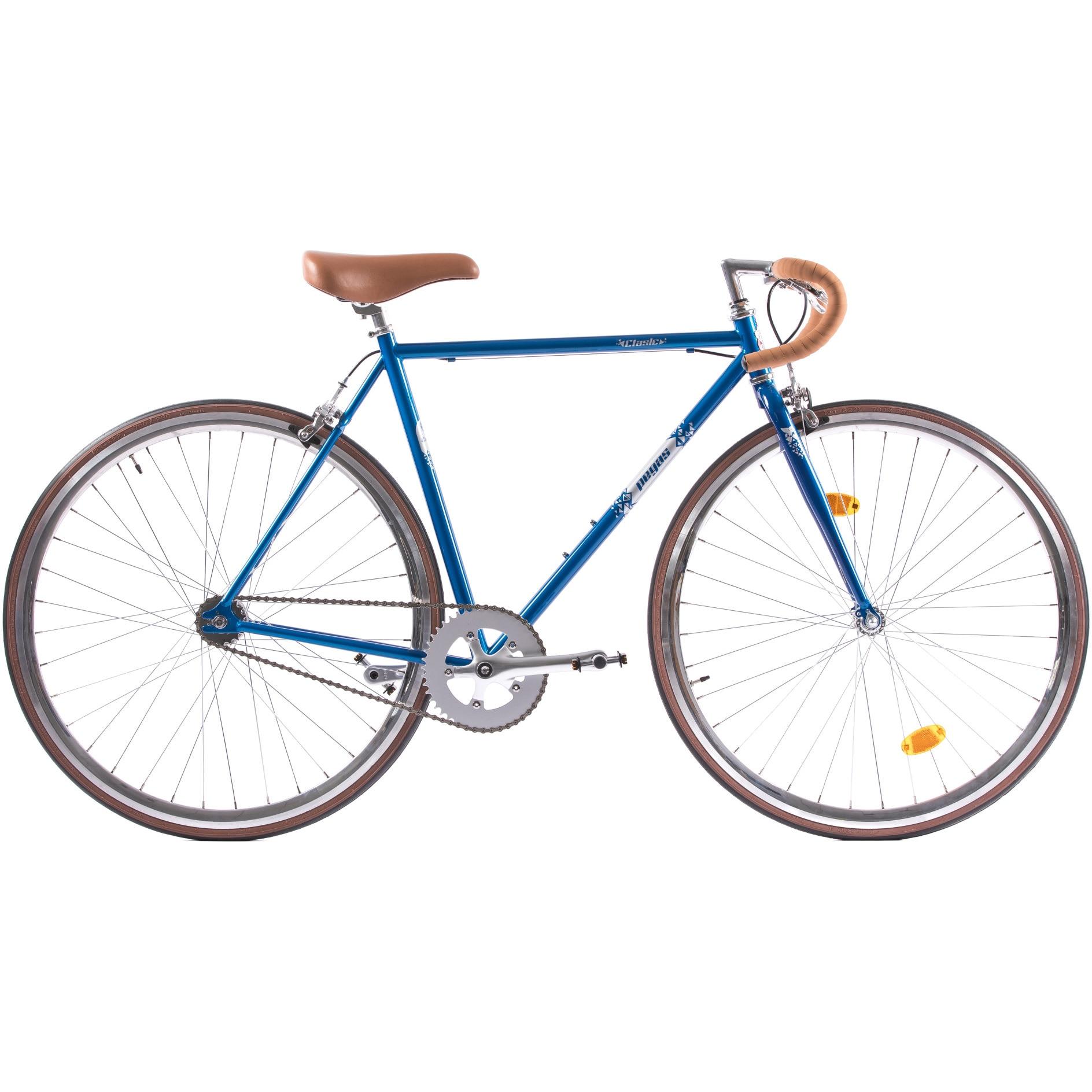Fotografie Bicicleta Pegas Clasic 2S, Drop Man, 54cm, Bleu