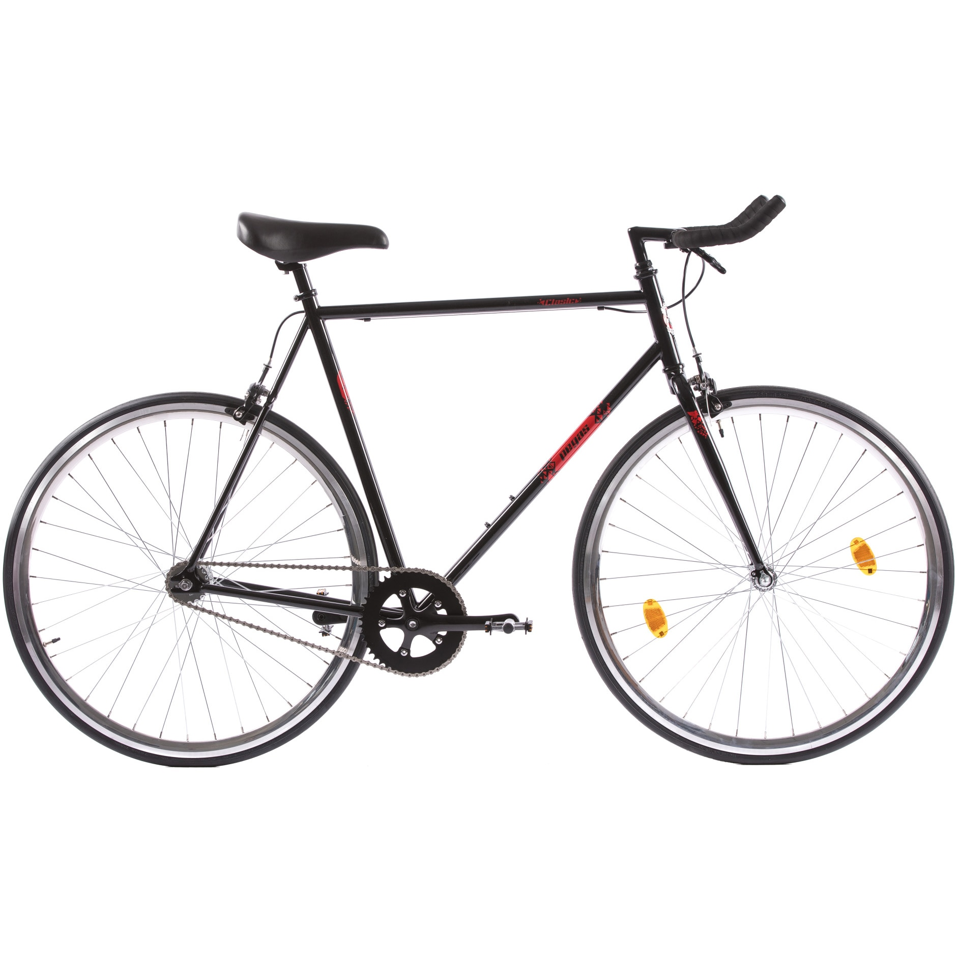 Fotografie Bicicleta Pegas Clasic 2S, Bullhorn Man, 61cm, Negru