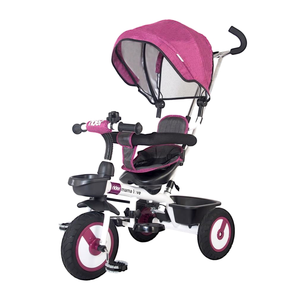 Fotografie Tricicleta multifunctionala MamaLove Rider, Violet