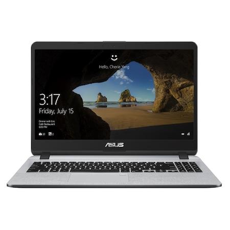 "Лаптоп Asus X507MA-EJ301, Intel Quad-Core Pentium N5000 (up to 2.7GHz, 4MB), 15.6"" FHD (1920x1080) AG, Web Cam, 4GB DDR4, HDD SSD 256GB 2.5"" SATA, Intel HD Graphics, ENDLESS, Gray+Asus WT300 RF Wireless Optical Mouse, up to 1600 DPI, Black"