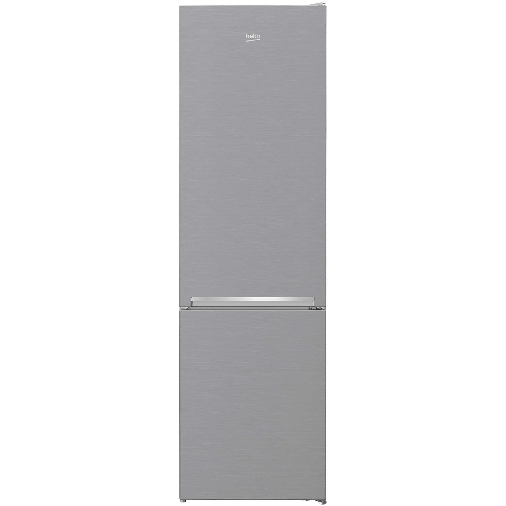Fotografie Combina frigorifica Beko RCNA406I30XB, 362L, Touch control, No Frost, Clasa A++, H 203 cm, Argintiu