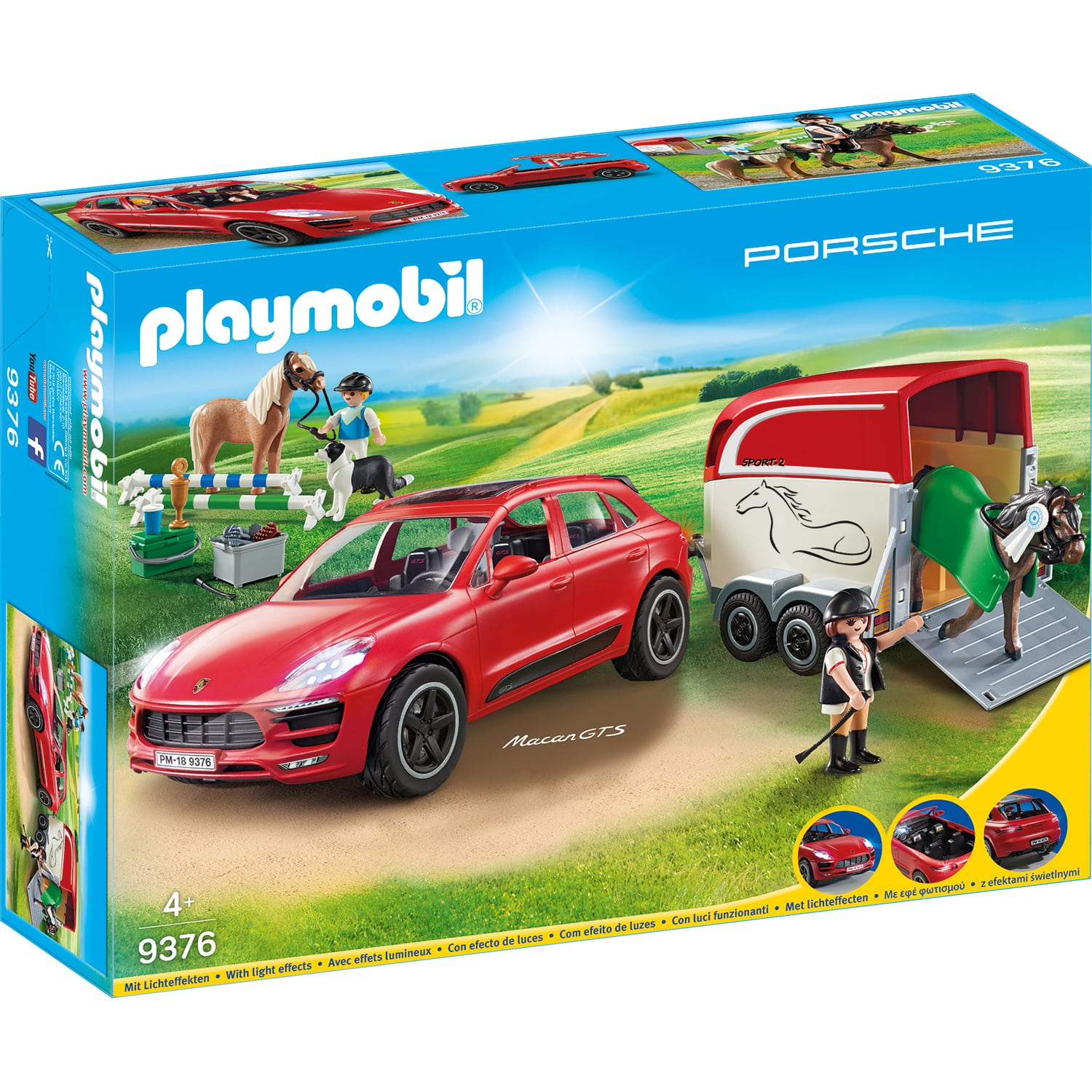 Fotografie Playmobil City Action - Porsche Macan GTS
