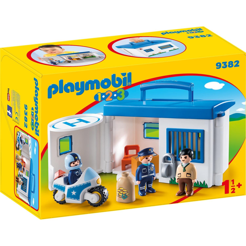 Fotografie Playmobil 1.2.3 - Set mobil statie de politie