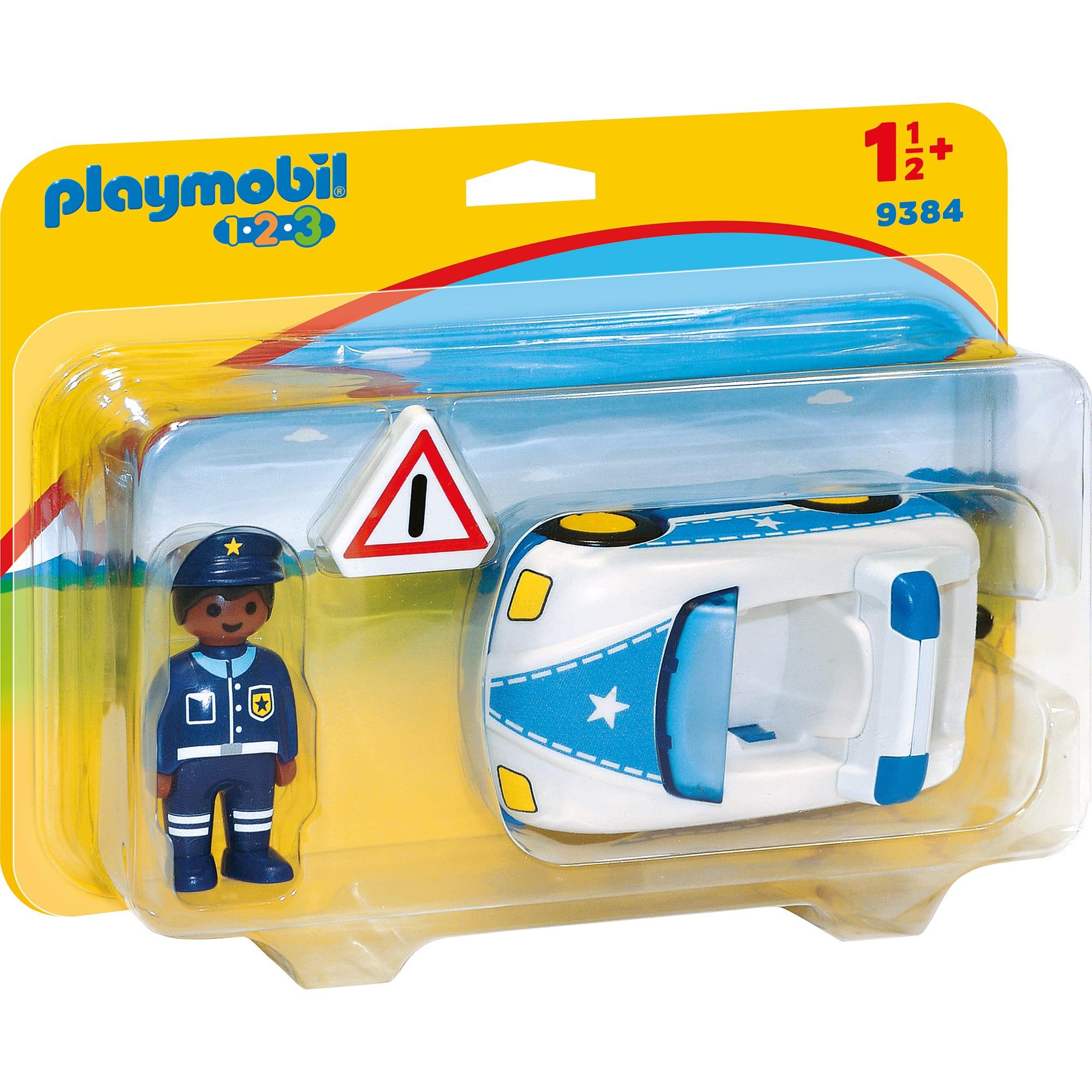 Fotografie Playmobil 1.2.3 - Masina de politie