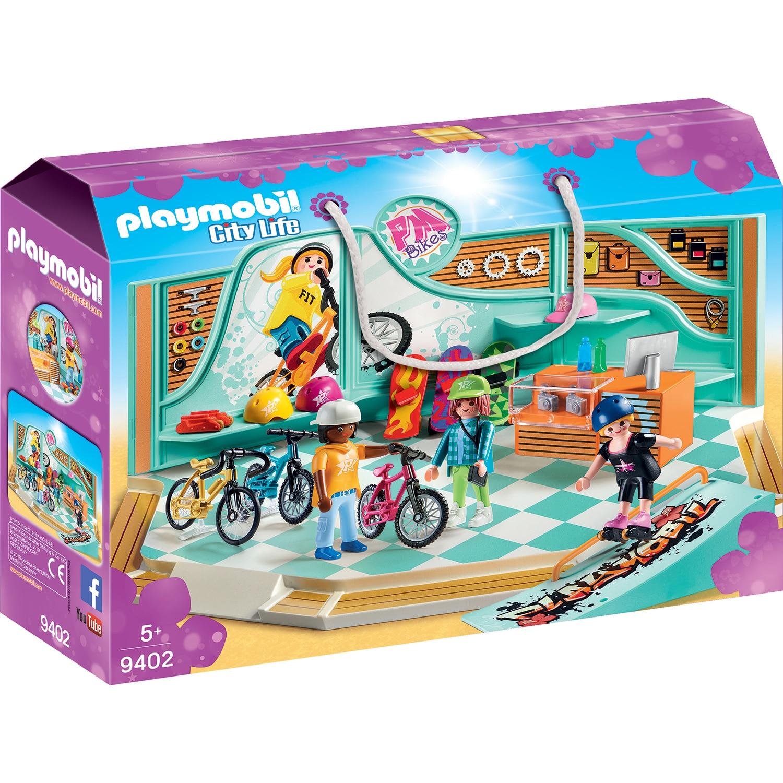 Fotografie Playmobil City Life - Magazin de biciclete si skateboard