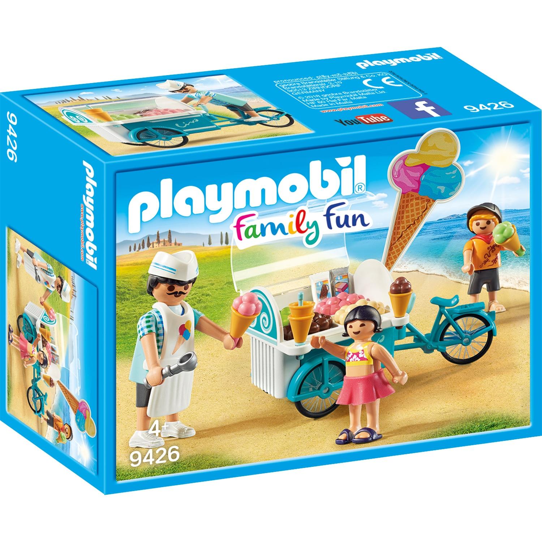 Fotografie Playmobil Family Fun - Aparat de inghetata mobil