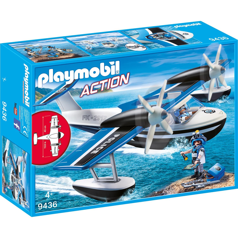 Fotografie Playmobil Action - Hidroavionul politiei