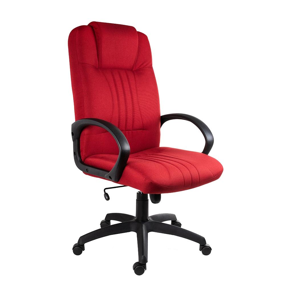 Fotografie Scaun ergonomic rotativ 5401 Antares, cu brate , textil E13, rosu