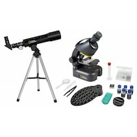 set telescop si microscop national geographic