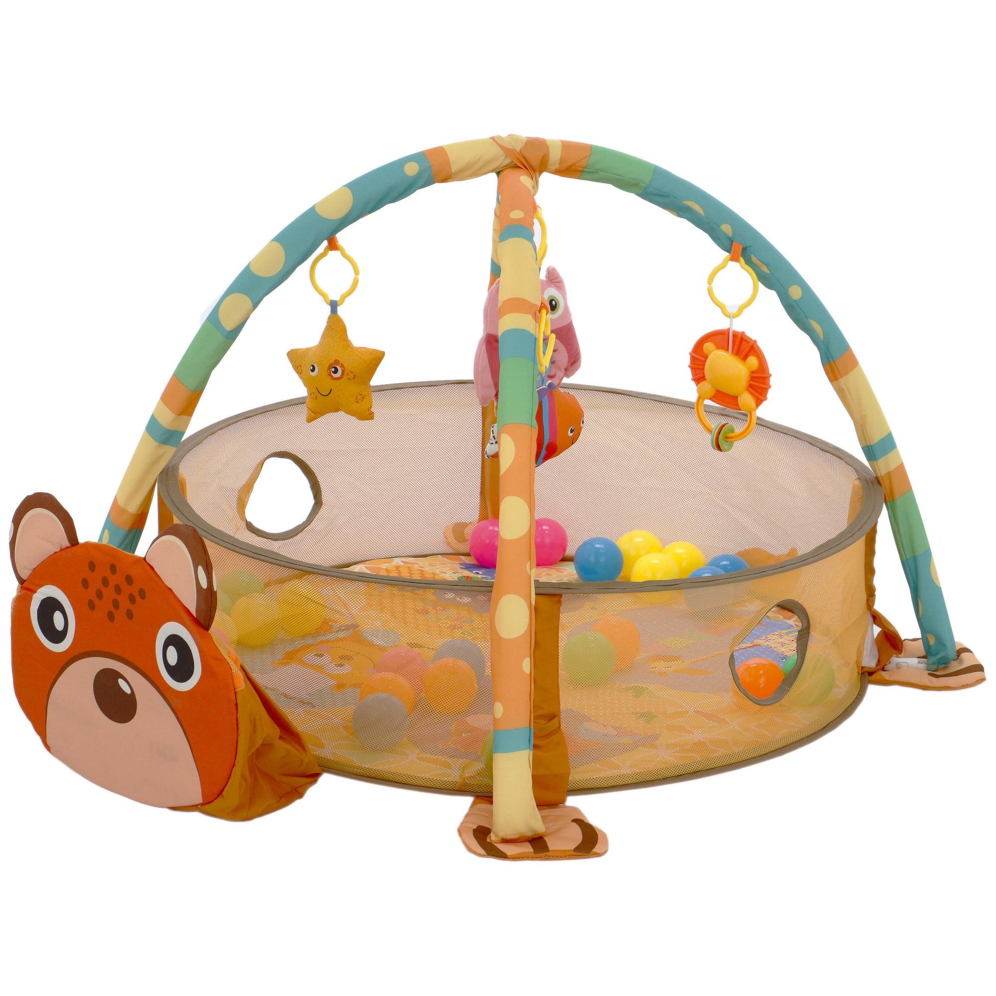 Fotografie Salteluta activitati M-Toys - Ursulet, cu mingi