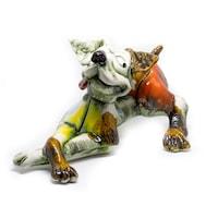 Керамични фигури Спектър керамик Куче В024 Н-12 см